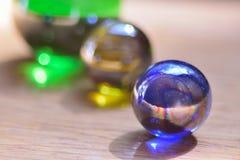 Marbres en verre Photo stock