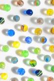 Marbres en verre colorés Image libre de droits