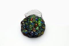 Marbres en verre multicolores Photographie stock libre de droits
