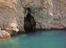 Marbrez la caverne (grotte). La Turquie. Photo libre de droits
