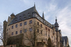 Marburg castle, Germany Royalty Free Stock Images