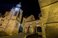 Marburg castle at night Stock Photography