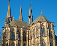 Marburg Cathedral Stock Photo
