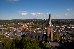 Marburg city Stock Photos