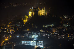 Marburg germany at night Stock Photography