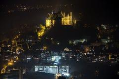 Marburg germany at night Stock Photography