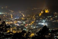 Marburg germany at night Royalty Free Stock Image