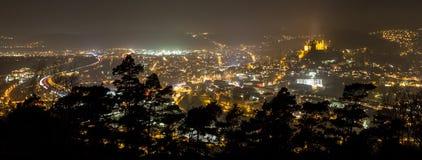 Marburg germany at night Stock Photo
