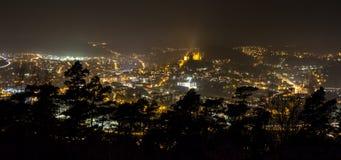 Marburg germany at night Royalty Free Stock Photo