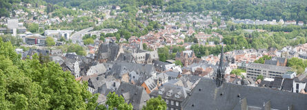Marburg Hesse Germany. A panoramic image of Marburg Hesse Germany stock photography