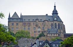 Marburg Landgraves Castle Stock Photos