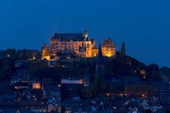 Marburg-Nächte Lizenzfreie Stockbilder