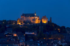 Marburg Nights Royalty Free Stock Images
