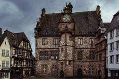 Marburg Townhall Στοκ Εικόνες