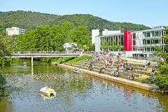 Marburg University Campus Stock Image