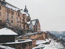 Marburgo Schloss imagen de archivo libre de regalías