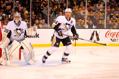 Marc-Andre Fleury and Brooks Orpik (44) Stock Images