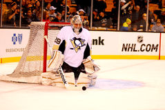 Marc-Andre Fleury Pittsburgh Penguins Images libres de droits