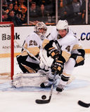 Marc-Andre Fleury Pittsburgh Penguins royalty-vrije stock foto's