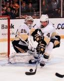 Marc-Andre Fleury Pittsburgh Penguins Fotografie Stock Libere da Diritti