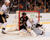 Marc-Andre Fleury Pittsburgh Penguins Lizenzfreie Stockbilder