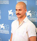 Marc Andre Grondin. Poses for photographers at 69th Venice Film Festival on September 8, 2012 in Venice, Italy Royalty Free Stock Photography