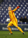 Marc-Andre ter Stegen of FC Barcelona. During a Spanish Kings Cup match against RCD Espanyol at the Power8 stadium on January 13, 2016 in Barcelona, Spain Stock Image