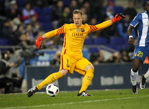 Marc-Andre ter Stegen of FC Barcelona royalty free stock photography