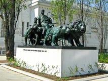 Marc Anthony Statue, Vienna, Austria Fotografia Stock Libera da Diritti