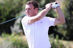 Marc Jathiere am Golf Prevens Trpohee 2009 Stockbilder