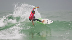 Marc Lacomare (FRA) in ASP World Qualifier Stock Images