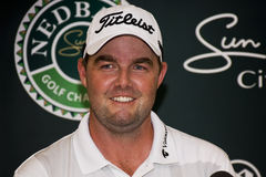 Marc Leishman - NGC2015 - champion Image libre de droits