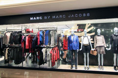 Marc By Marc Jacoss shop in Hong Kong Stock Images