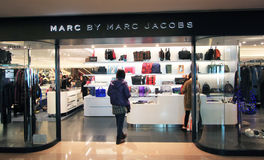 Marc By Marc Jacoss shop in Hong Kong Royalty Free Stock Photos