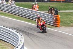 Marc Marquez da competência da equipe de Repsol Honda Imagem de Stock Royalty Free