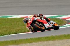 Marc Marquez HONDA Repsol MotoGP GP of Italy 2013 Mugello Circuit Stock Images