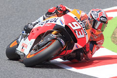 Marc Marquez. Monster Energy Grand Prix of Catalunya MotoGP Stock Photography