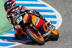 Marc Marquez pilot of Moto2  of the MotoGP Royalty Free Stock Photo