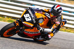 Marc Marquez pilot of Moto2  of the MotoGP Royalty Free Stock Image