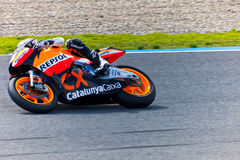 Marc Marquez  pilot of Moto2  of the MotoGP Royalty Free Stock Photos