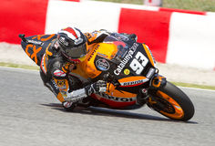 Marc Marquez racing Royalty Free Stock Photography