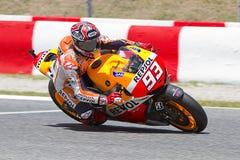 Marc Marquez racing Stock Photo