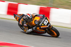 Marc Marquez racing Moto2 Royalty Free Stock Photography