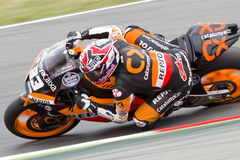 Marc Marquez racing Royalty Free Stock Image