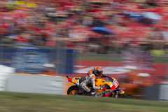 Marc Marquez. Repsol Honda Team. Fans zone Royalty Free Stock Photography