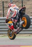 Marc Marquez. Repsol Honda Team. Grand Prix Movistar of Aragón Stock Photo