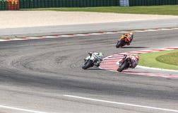 Marc Marquez of Repsol Honda team racing Royalty Free Stock Photo