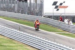 Marc Marquez of Repsol Honda team racing Stock Images