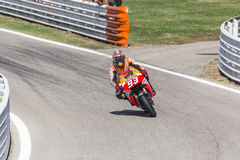 Marc Marquez of Repsol Honda team racing Royalty Free Stock Photography