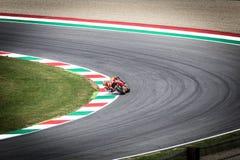 Marc Marquez sur le fonctionnaire Honda Repsol MotoGP Mugello Images libres de droits